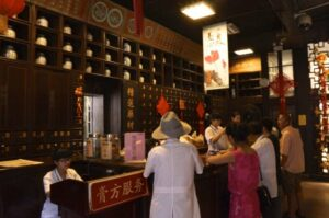 Chinesische Arzneimittel Kräuterapotheke Hangzhou
