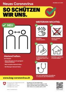 BAG Coronavirus 9 Palaces TCM Schwyz Brunnen